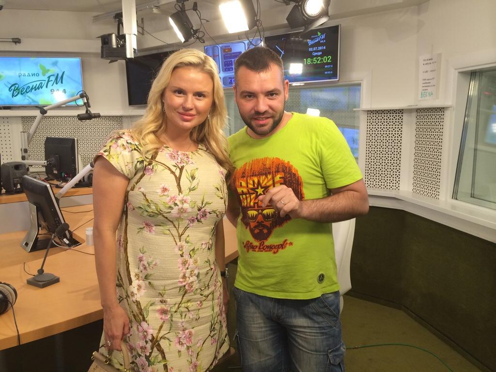 Анна Семенович и Марк Сдвигов
